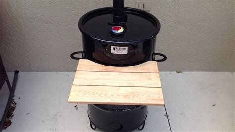 Pit Barrel Cooker The 1 Barrel Smoker Grill On The Market Pit Barrel Cooker Modification Adding A Chimney