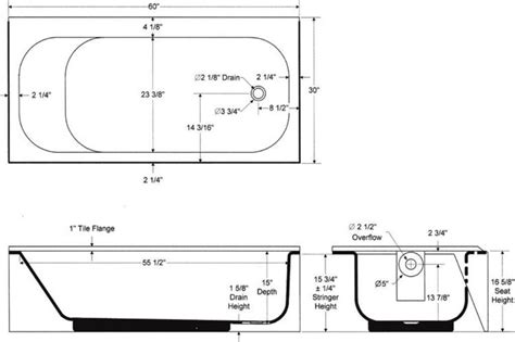 bathtubs idea amusing standard tub dimensions standard