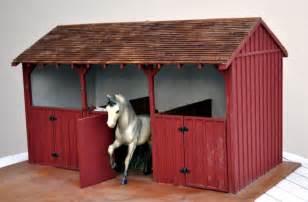 breyer barn wooden barn