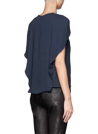 Ready Cape Top Balotelly crepe cape top