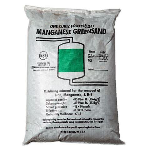 Cartridge Manganese Greensand Plus greensand plus 14 3