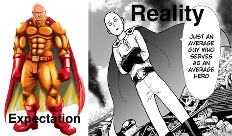 onepunch one expectation vs reality one punch your meme