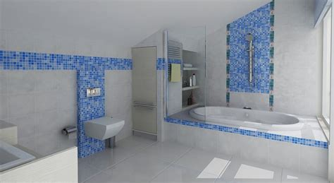 Use The Bathroom Tile Ideas For Selecting The Right Gray Blue Bathroom Ideas