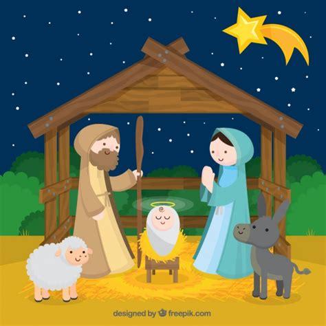 imagenes de navidad nacimiento del niño jesus fondo del nacimiento del ni 241 o jes 250 s con estrella fugaz