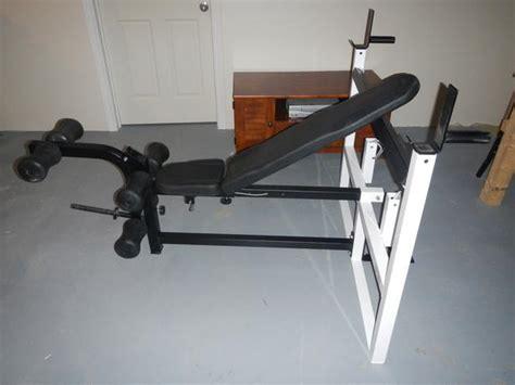 northern lights bench press northern lights olympic bench press dips leg attachement