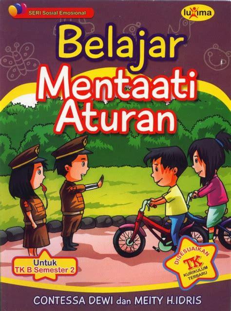 Buku Belajar Membaca Seri 2a2b Untuk Tk Dan Sd Keterilan Anak Bukukita Belajar Mentaati Aturan Seri Sosial