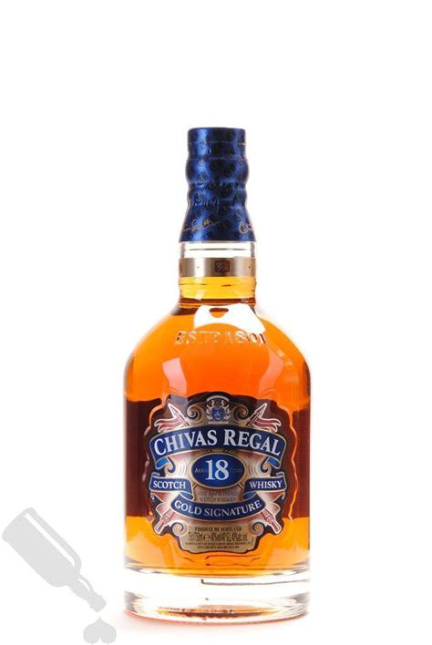 Regal Gold by Chivas Regal 18 Years Gold Signature 75cl For Whisky