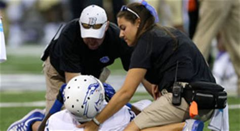 almost half of college trainers feel compromised by coaches nfl