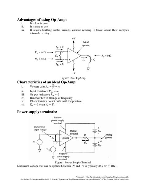 operational lifier and linear integrated circuit by coughlin operational lifiers and linear integrated circuits
