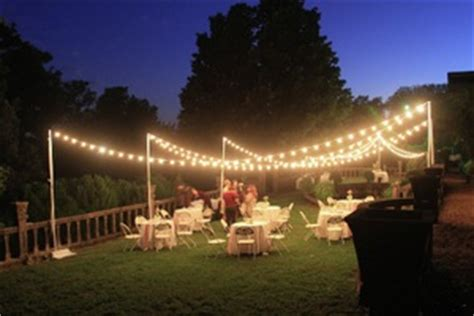 Outdoor Wedding Lighting Rental Lighting Knoxville Tn Room Ornament