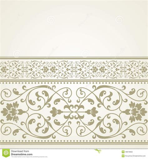 design patterns invitation cards floral pattern for invitation or greeting card stock