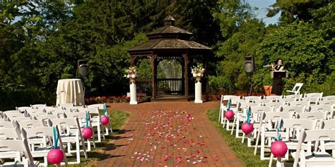 outdoor wedding venues central new jersey garden inn hamilton weddings get prices for