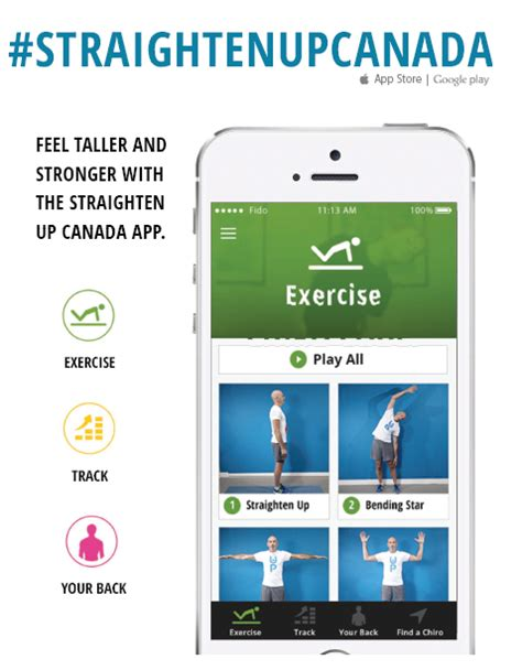 To Straighten Up by Straighten Up App Back To Health Wellness Centre