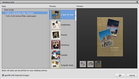 greeting card template photoshop elements progetti fotografici di photoshop elements