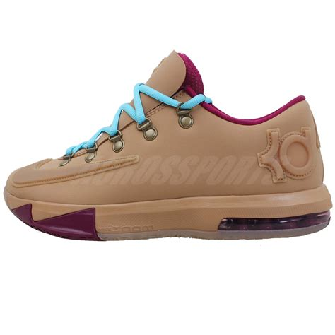 nike kd vi 6 ext gum qs kevin durant mens casual shoes nsw