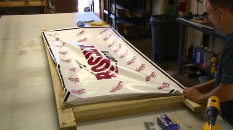 build an a frame banner installation building a frame youtube