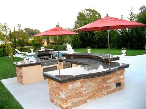 Backyard Grill Islands Outdoor Grill Islands Outdoordesign Patio Umbrella On