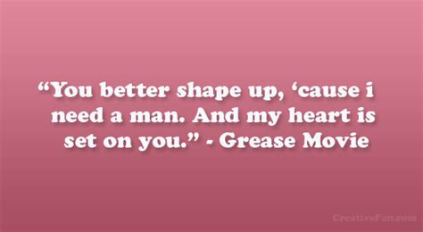 quotes from movie grease quotesgram grease love quotes quotesgram