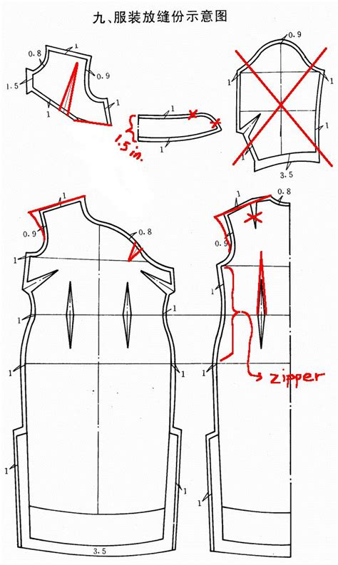 sewing pattern qipao 20 best images about cheongsam template on pinterest