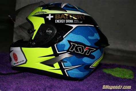 Helm Ink Vs Kyt review helm kyt vendetta 2 replika aleix espargaro 187 bmspeed7