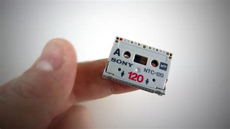 the smallest the world s smallest cassette sony nt