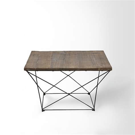 angled base coffee table west elm