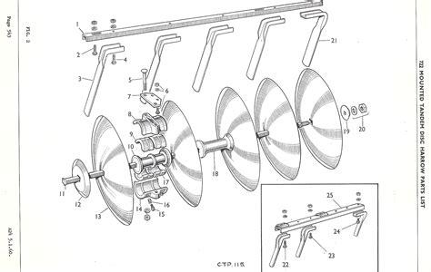 diagram of plough disc harrow parts diagram 28 images disc plow drawing