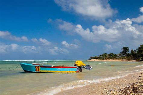 fishing boat for sale jamaica jamaican fishing boat photograph by cathy anderson