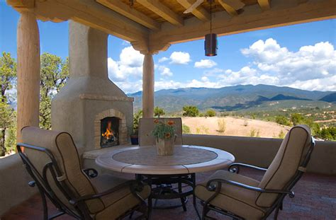 Santa Fe Style Homes by A New Territorial Style Home In Monte Sereno In Santa Fe Nm