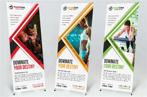 templates for sports banners 33 awesome digital signage templates desiznworld