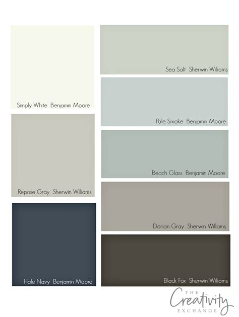 paint palettes for home tips for choosing whole home paint color scheme