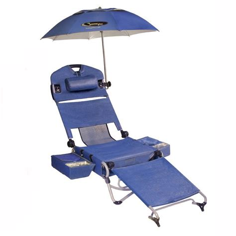 beach armchair beach lounger pack chair with coolers
