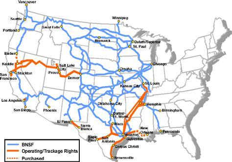 Bnsf Route Map by Map Of Union Pacific Railroad Lines Pictures To Pin On