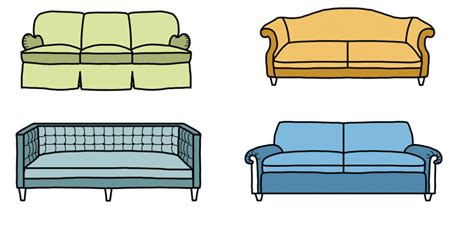 different couch styles 10 sofa styles different types of couches