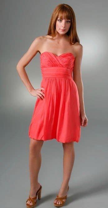 coral sundress dressed  girl
