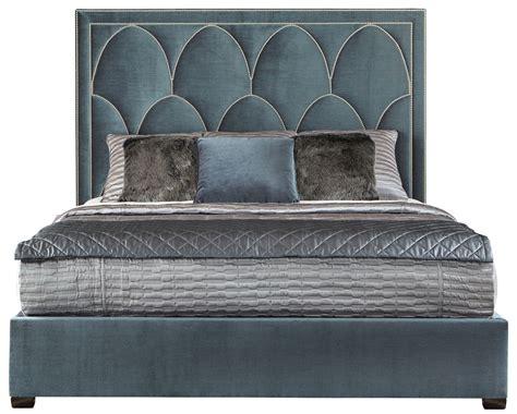 upholstered king bed bernhardt