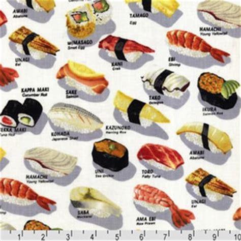 Squishi Magnet Donat Tipe 1 shushu style robert kaufman chopsticks sushi bar white fabric