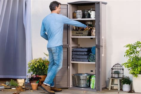 keter tall utility boston tall utility shed 3 selves keter