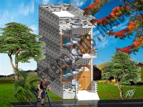 12 215 45 feet 50 square meter house plan 12 215 45 feet 50 square meter house plan