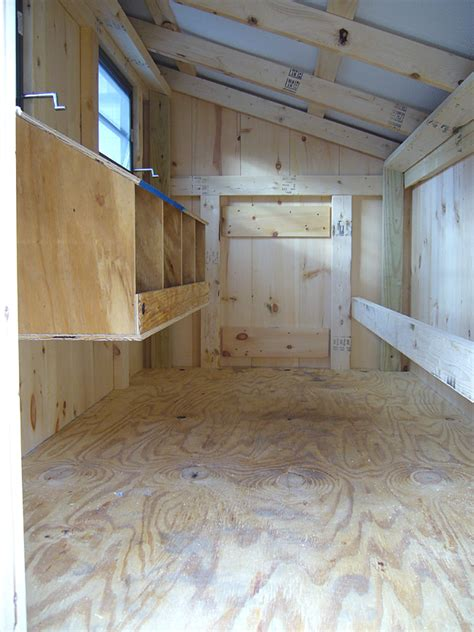 interior layout of a chicken coop chicken coops amish built coops chicken houses