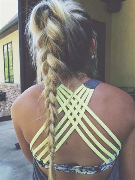 Hairstyles For Sports by 7 Easy Ways To Do Your Hair For Sports