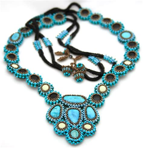 Turquoise Handmade Jewelry - ezartesa handmade jewelry designer beaded fashion