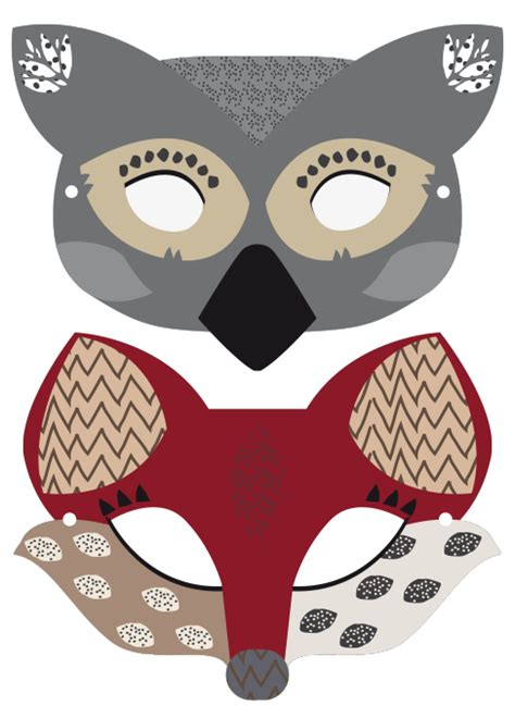 printable endangered animal masks printable animal masks diy pinterest animal masks