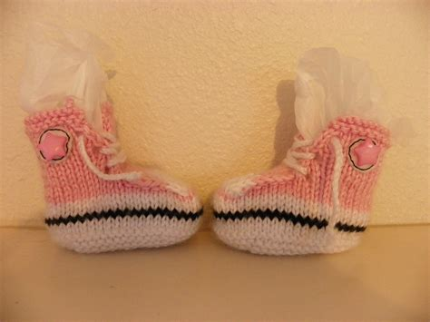 knitted converse baby booties pattern leap and the net will appear knitting project