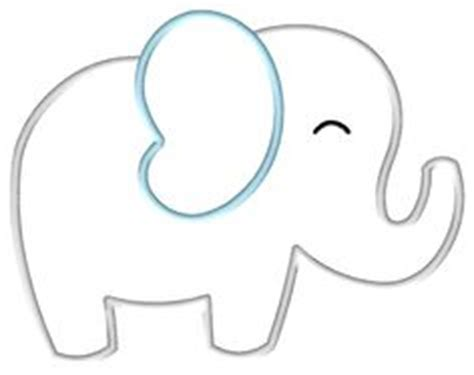 elephant cut out template elephant applique template search baby shower