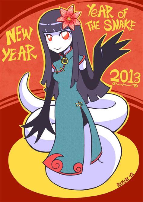 new year 2018 year of the snake new year 2013 year of the snake by rickz0r on