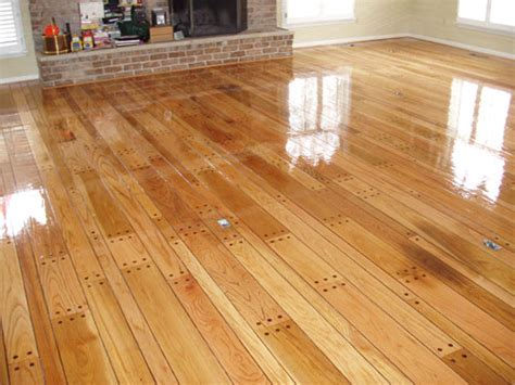 Refinished Hardwood Floors Before And After Wood Floor Refinishing After