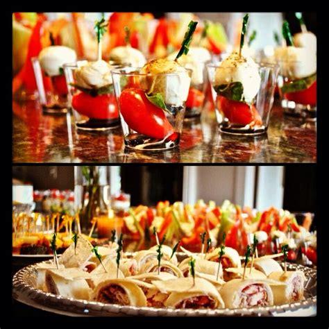 bridal shower brunch finger foods 2 bridal shower food mini caprese salad turkey cranberry sandwich wraps bridal shower brunch