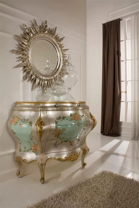 gold  silver gold leaf bedroom furnituretop