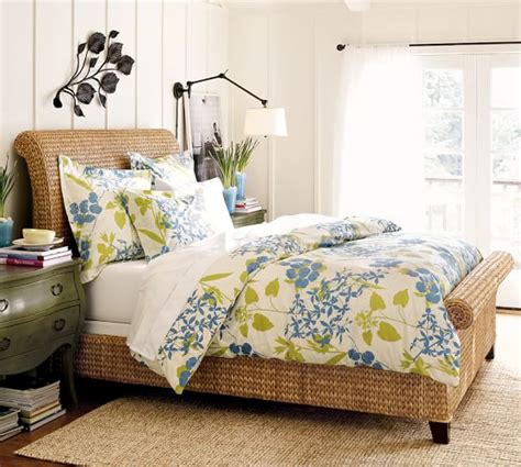 Seagrass Beds by Seagrass Sleigh Bed Pottery Barn